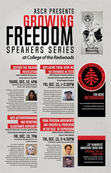 ASCR Presents 'Growing Freedom' Speaker Series